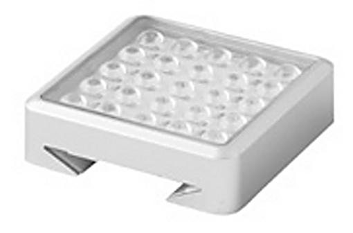 Led samostatné svítidlo LED 3006 rozměry 55x55x15 příkon 1,8W 2