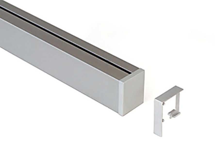8902.9845 LinerMosaiQ Stěnová lišta- hliníkový profil + přísluše