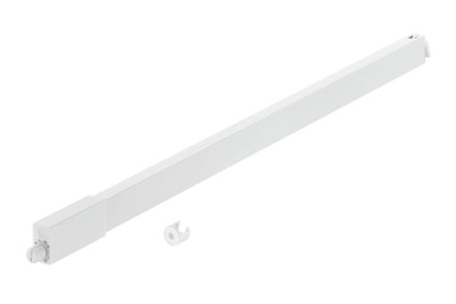 Sada hranatého relingu 500 bílý,Häfele Matrix Box S, hranatý