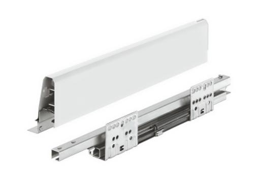 Häfele Matrix Box Bílý, 450mm výška 84 mm, nosnost 35 kg, s tlu