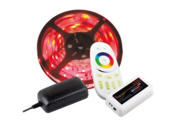 Set páska 150 LED IP20 RGB + dálkové ovládání a napájení