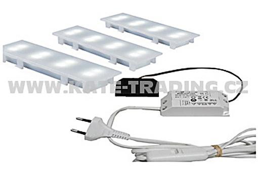 Sada 3 LED světel/12 DC FLOOR elektron.transformátor (3)