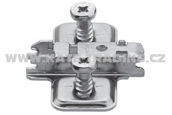 173L8100 Podložka clip křížová 0mm s euro vruty /S/