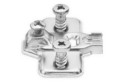 193L8100 Podložka Modul s Euro vruty 0mm /plech/ (1)