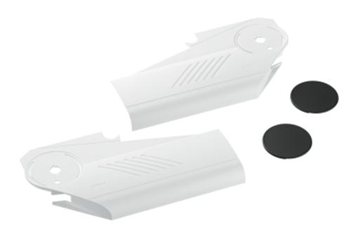 20S8000 Krytky set nízké AVENTOS HS hedvábně bílá (4)