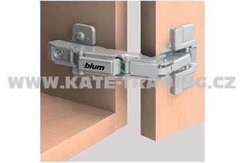 71T6550 Pant clip 170° naložený skládané dveře /S/