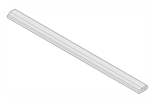 Synchronizační kabel 300 cm, R7035 světle šedý (pouze v případě