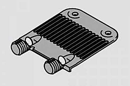 """Z96.10E1 Stabilizace čel """"hřeben"""" (1) /S/"""