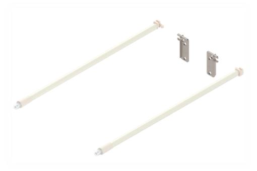 ZRE.421S.ID Reling 450 METABOX bílý /S/