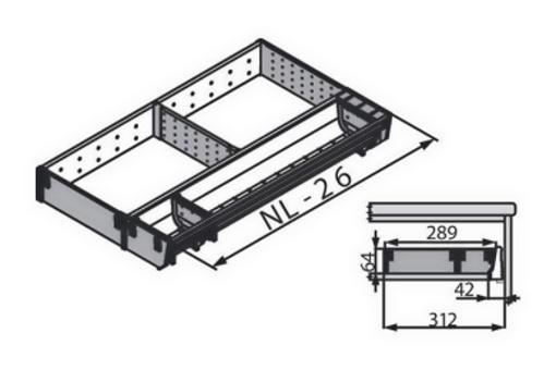 ZSI.500KI3N Rozdělovník do 500 hl./š 289 mm Akce (4)