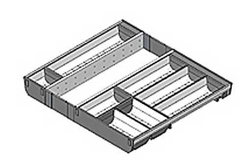 ZSI.60VUI6 Rozdělovník š.600/hl.500 mm 1)