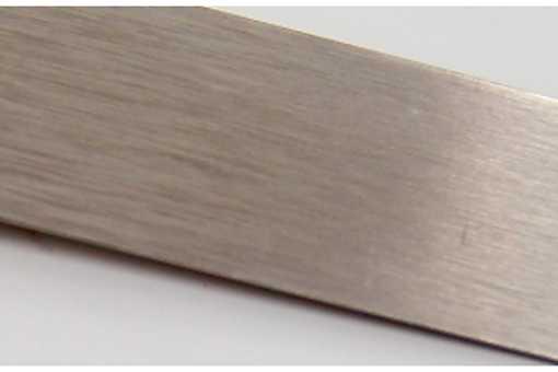 Okopový plech 10cm AD stříbrná brus/1.14.100x0,45.AL01