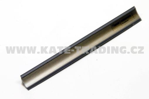 Těsnící lišta Compact-line-nerez broušený15x15mm / návin až 50 m