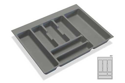 Rozdělovník -příborník plastový do zásuvky M40 336x482mm (B)