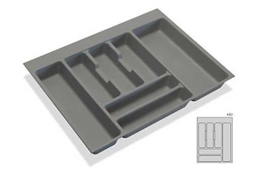 Rozdělovník - příborník plastový do zásuvky M45 386x482mm (B)