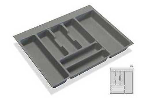 Rozdělovník - příborník plastový do zásuvky M50 436x482mm (B)