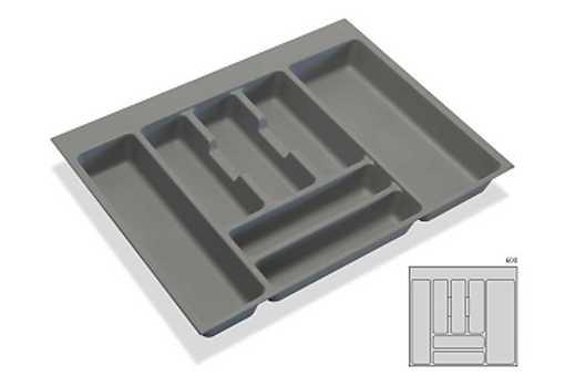 Rozdělovník -příborník plastový do zásuvky M60 536x482mm (B)