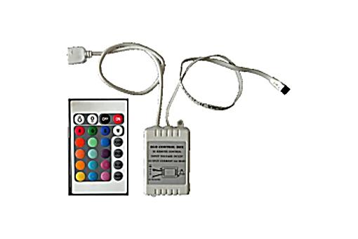 RGB řadič s dálk.ovládáním IR 3x2 A 12V 6A 72W (C)