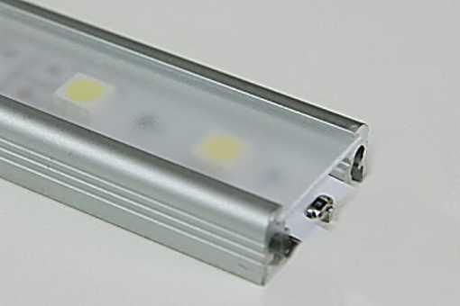 Lišta pro LED PP1 naložená WIRELI 11 SURFACE hliník anod 2000mm