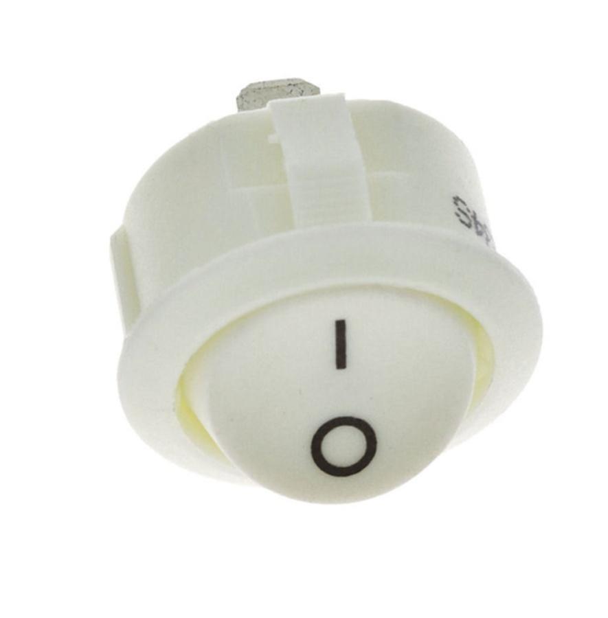 Vypínač kolébkový R13 bílý (C)