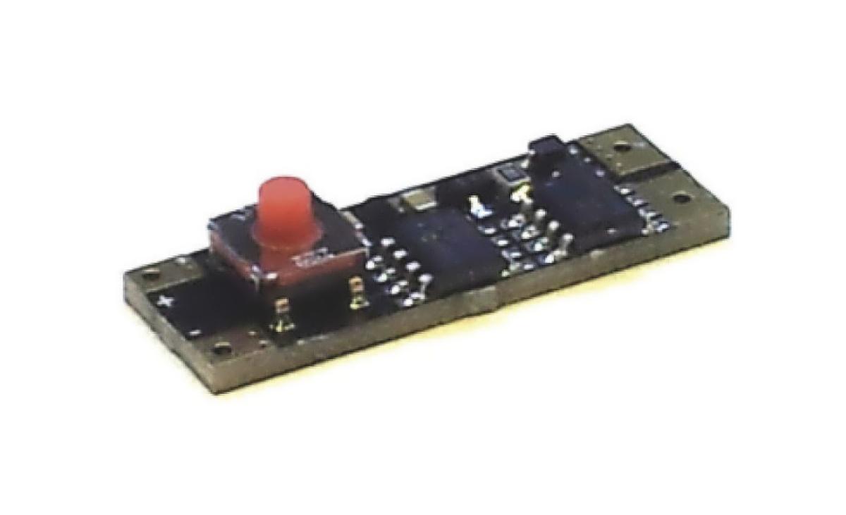Vypínač a stmívač LED do lišt MECHANICKÝ A 10x28 mm 120W 10-15V