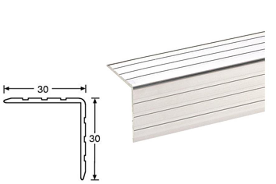 AL PROFIL hliníkový úhelník rohový 30 x 30 mm