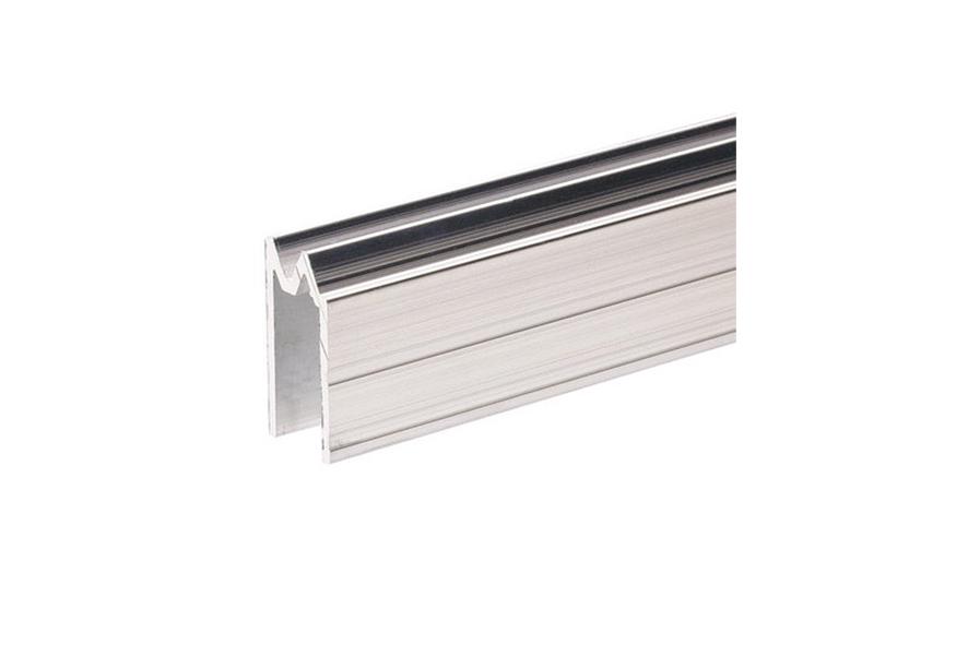 AL PROFIL hliníková lišta na víko zámková pro 9,5 mm materiál