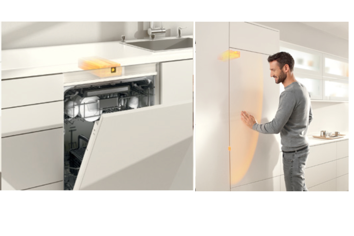 Sada SERVO-DRIVE flex pro vestavnou lednici-myčku