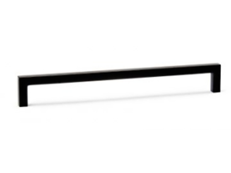 úchytka VIEFE černá rozteč 192mm