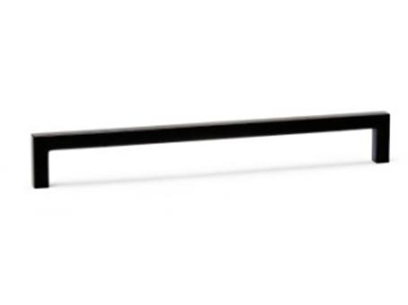 úchytka VIEFE černá rozteč 492mm