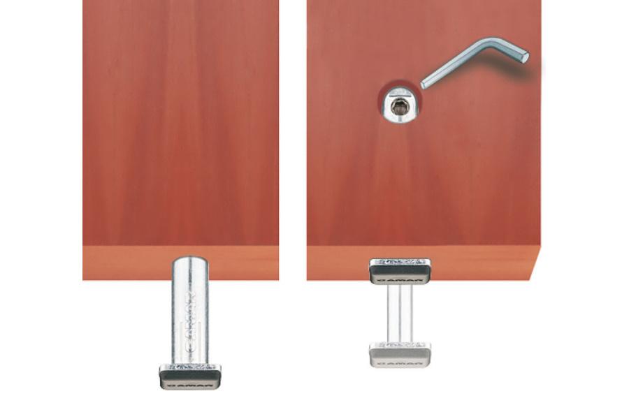 Camar Mechanismus nastavení výšky soklu,pro montáž do vyvrtaného