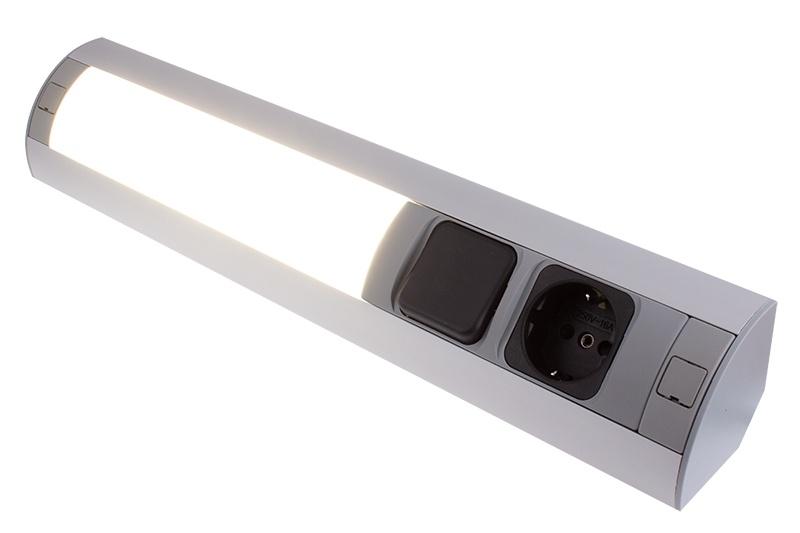 Rohové světlo LED 7W světelným zdrojem. 4000K 450lm