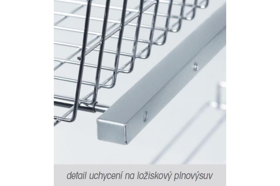 Kryt výsuvu WIRELI 3102338004 - L/P, stříbrný epoxid (A)