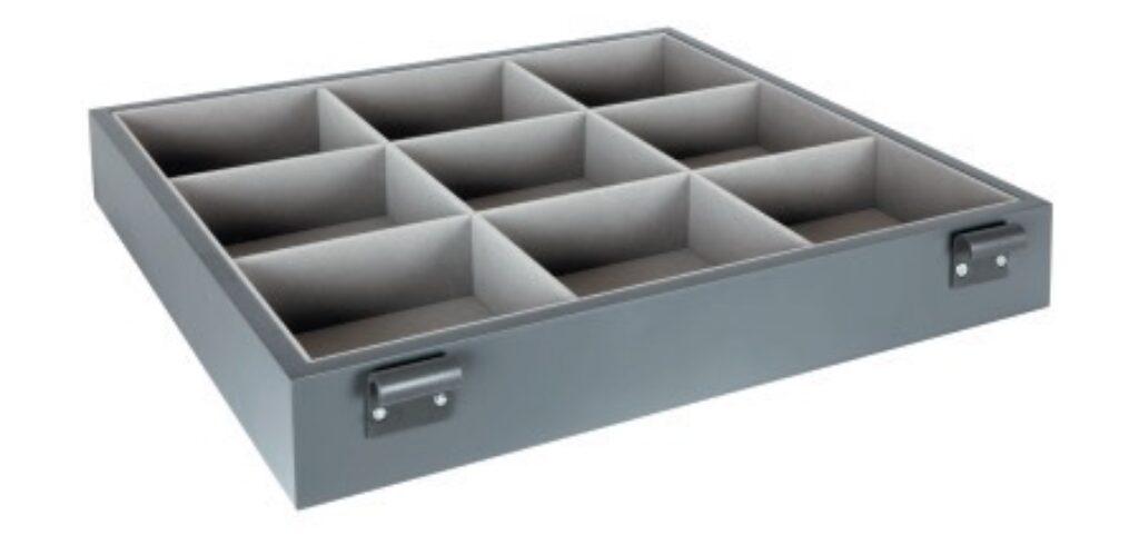 Pořadač na doplňky, 480x430x80 mm, antracit (2005006602)