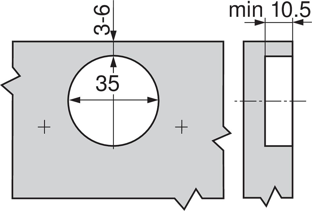 71M2550 Pant clip naložený 100° /S/
