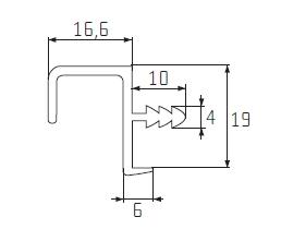 Profil S 02 ELOX 1bm /2 a 3 m /1ND1NH02/