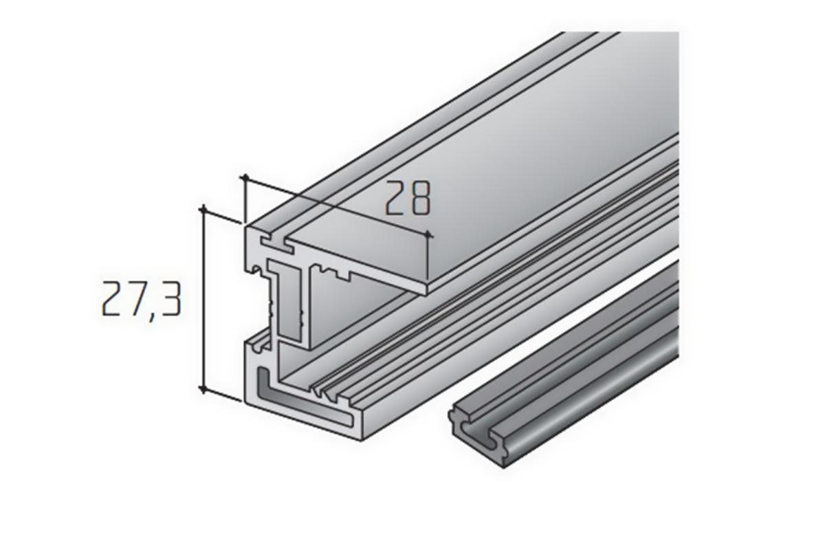 S45B madlo elox 2,7m /15D1S45B27/