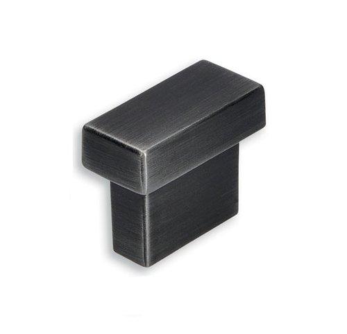 Kovová knopka: Délka: 29 mm, Rozteč:16 mm, Povrch: železo černé